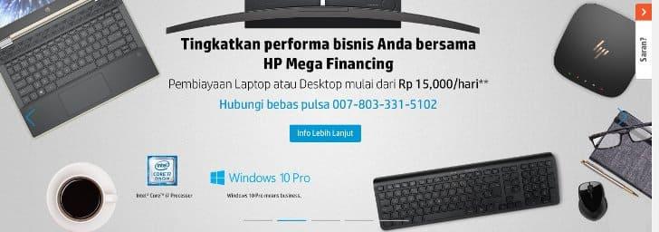 kredit laptop hp mega financing