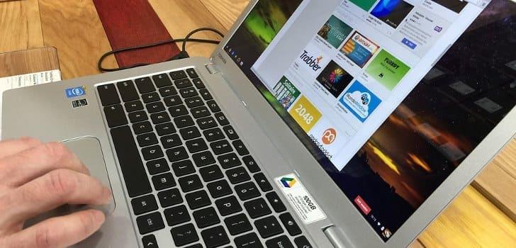 laptop buatan google