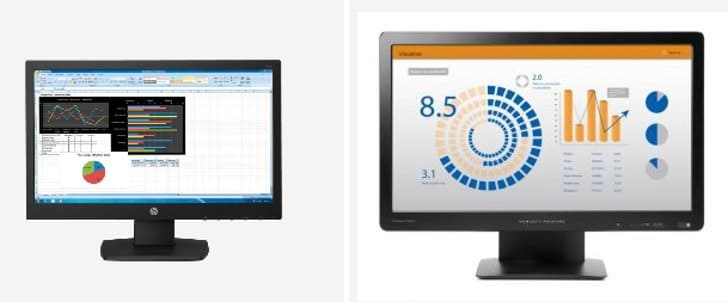 monitor hp led bisnis
