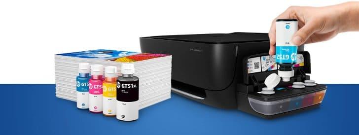 printer hp sistem ink tank terbaru