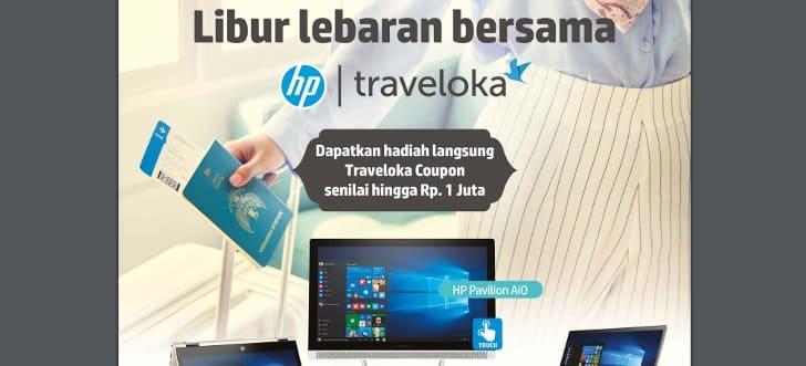 voucher traveloka gratis pembelian laptop hp