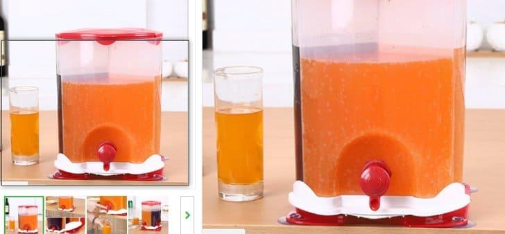 dispenser minuman tabung 3 kran