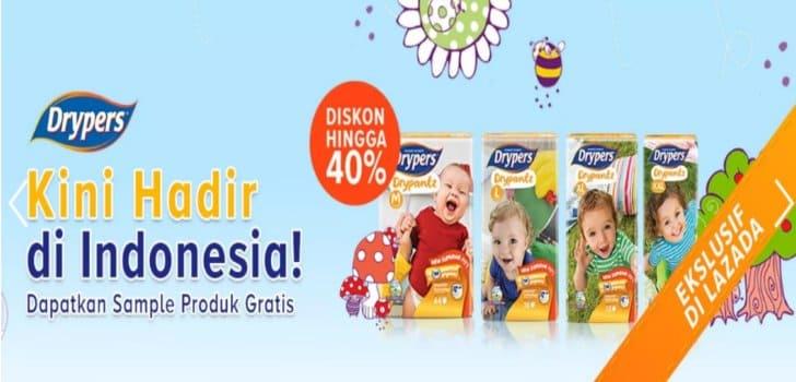 popok bayi drypers lazada indonesia