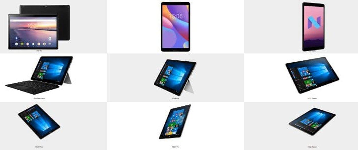 tablet chuwi dan laptop murah spesifikasi mewah