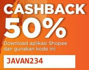 voucher shopee cashback pengguna baru