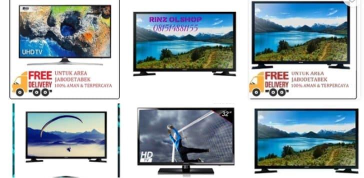 tv led samsung terlaris tokopedia