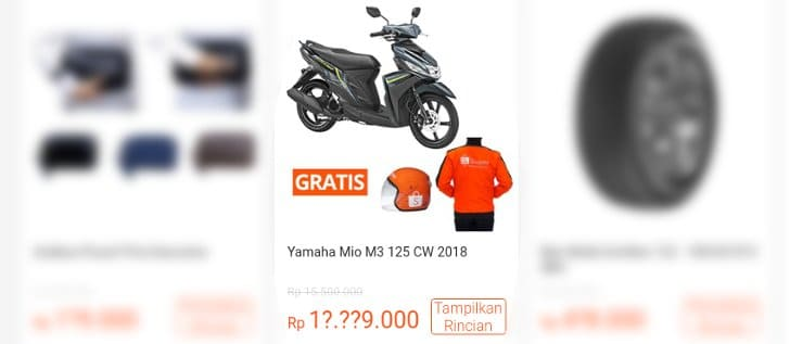 yamaha mio m3 flash sale shopee