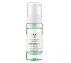 The Body Shop Aloe Foaming Facial Wash