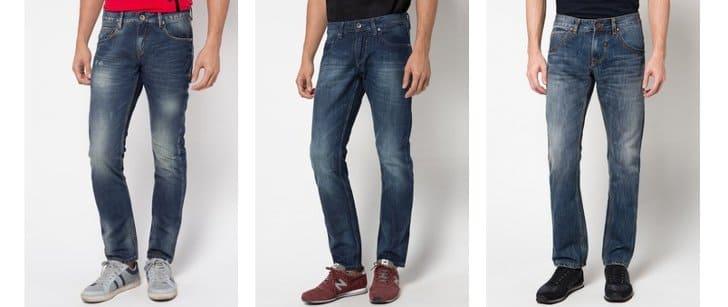celana panjang cressida jeans hitam dan biru