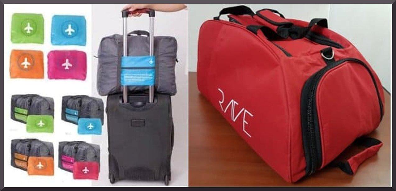 merk tas travel terbaik model jinjing lipat dan backpack
