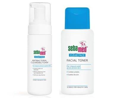 sabun muka berjerawat sebamed antibacterial cleansing foam