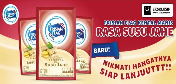 kental manis susu jahe frisian flag