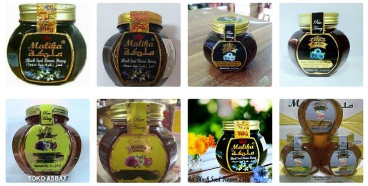 madu malika nektar bunga habbatussauda