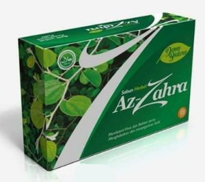 sabun herbal azzahra