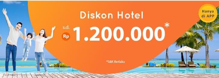 gempita diskon hotel 1,2 juta