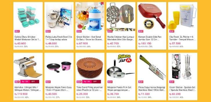hot deals lazada perlengkapan rumah tangga murah