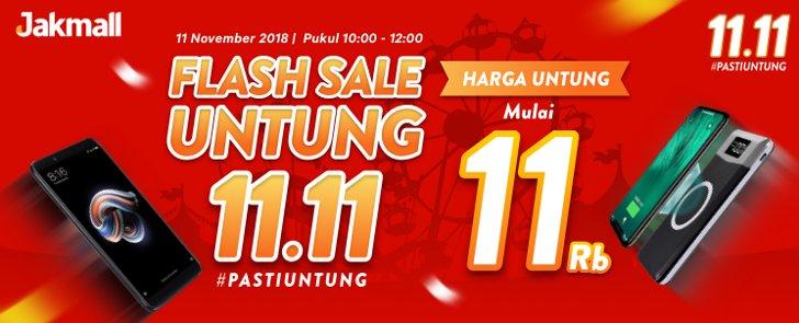 jakmall 11 ribu flash sale untung