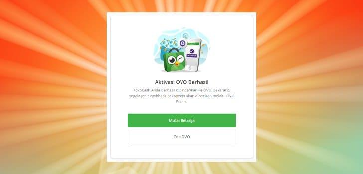 OVO Cash Kini Menggantikan TokoCash Tokopedia - Bicara Produk