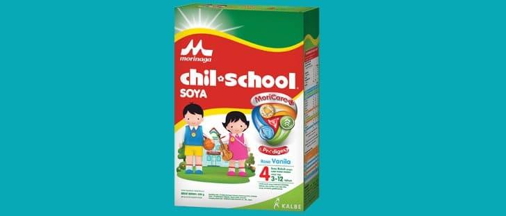 produk gratis Morinaga Chil School Platinum