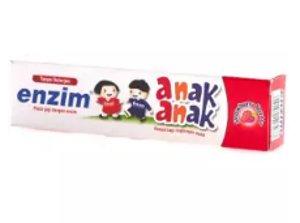 enzim pasta gigi anak tanpa deterjen