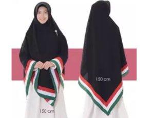 hijab palestina jumbo khimar wolfis