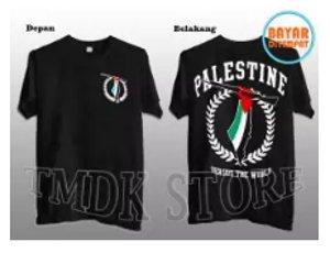 kaos palestina termurah sablon