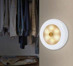 lampu tempel sensor gerak otomatis menyala termurah gearbest