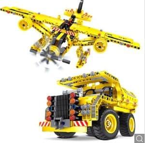 mainan anak mobil pesawat bongkar pasang gearbest termurah