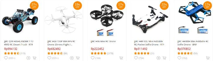 drone dan robot jjrc