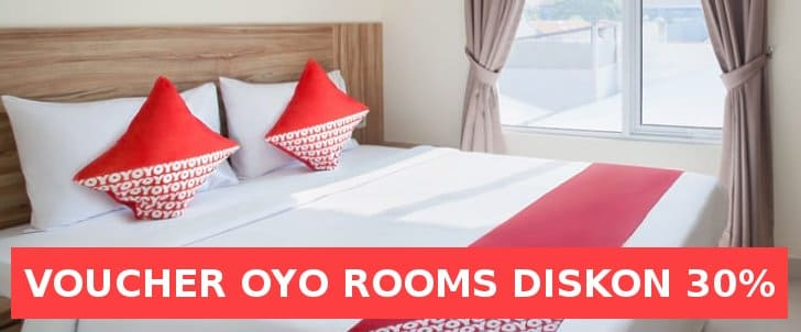 voucher oyo rooms shopee diskon 30%