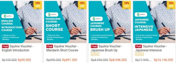 voucher squiline shopee official