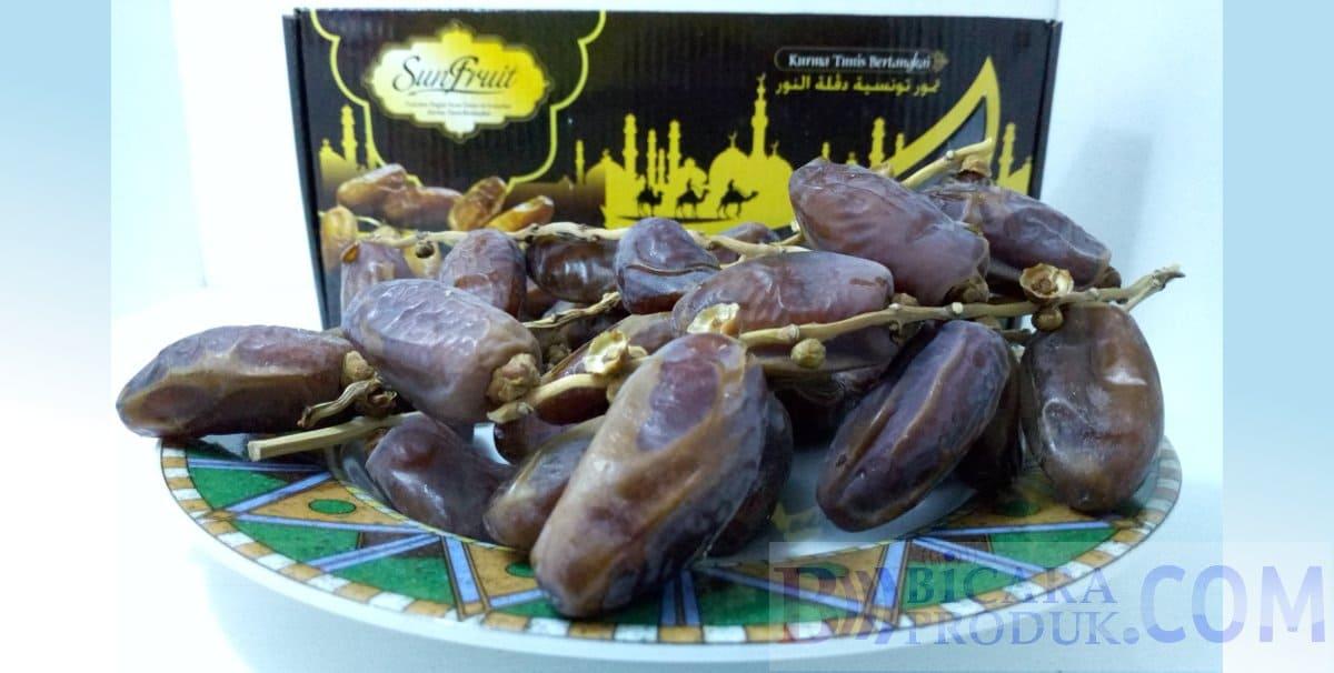 kurma tangkai tunisia terbaik fresh dan legit