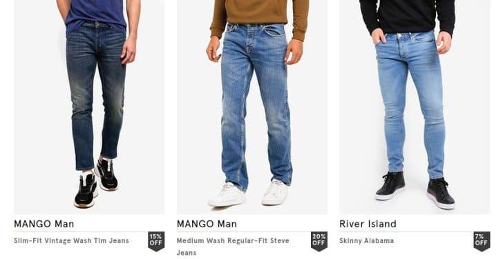 diskon jeans promozalora hari ini