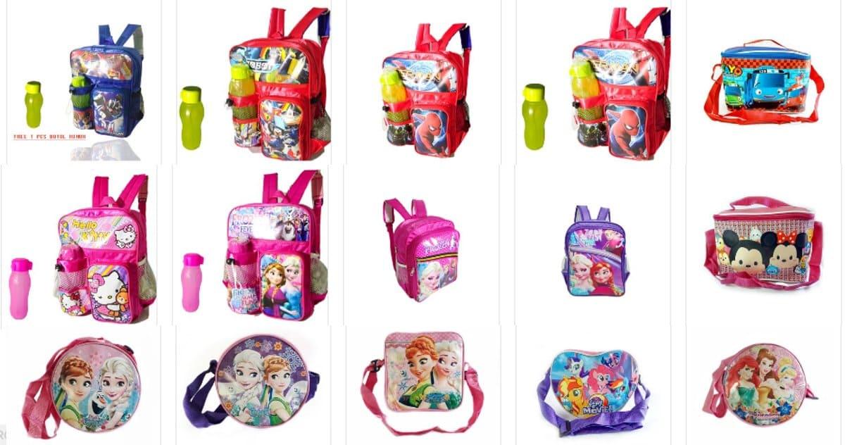 tas anak zilingo untuk sekolah bermain dan traveling