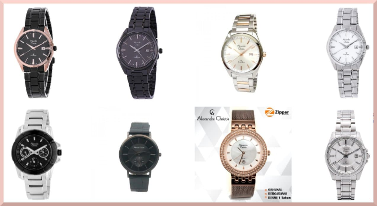 kelebihan jam tangan Alexandre Cristie terbaik desain dan harga murah