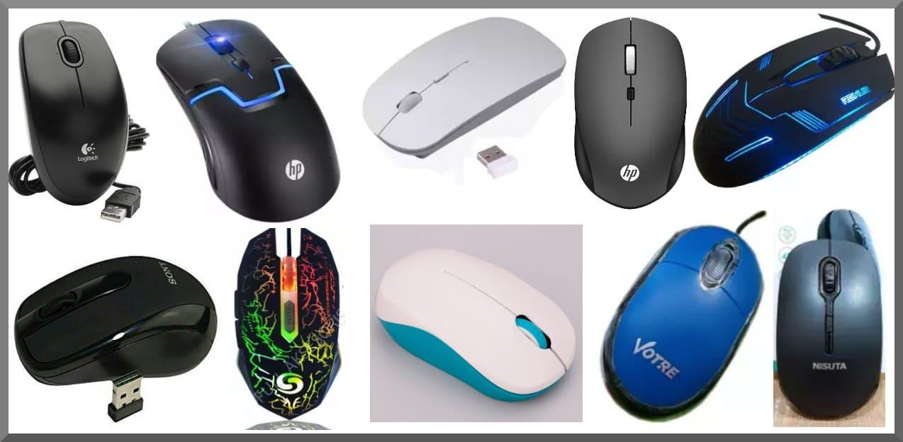 10 Merk Mouse Terbaik Jenis Wireless dan Kabel USB