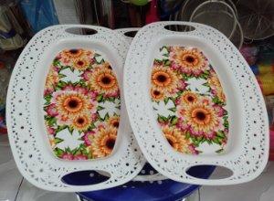 nampan motif bunga