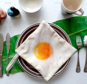 pouch telur ceplok lucu