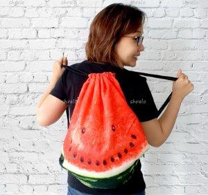 tas semangka cantik warna kontras