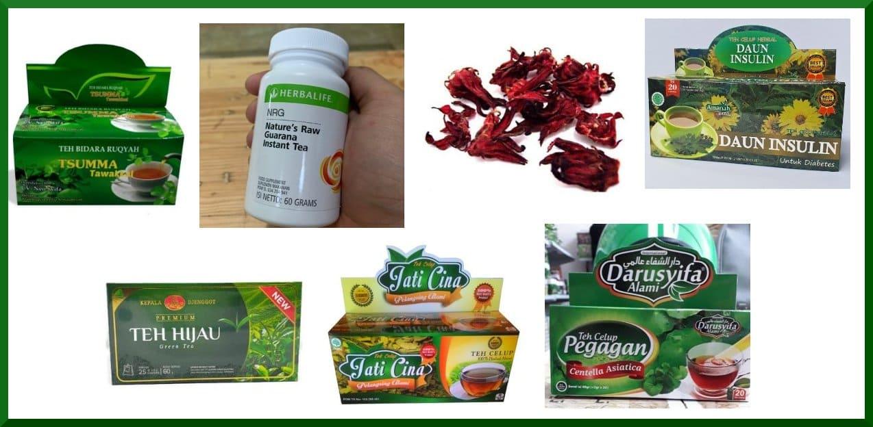 7 Teh Herbal Pelangsing dan Kesehatan Tubuh