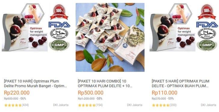 harga paket optrimax termurah 10 hari dan 5 hari