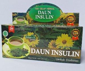 teh daun insulin