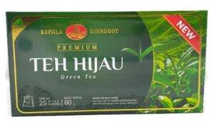 green tea kepala jenggot