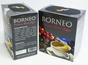kopi herbal borneo premium blend coffee