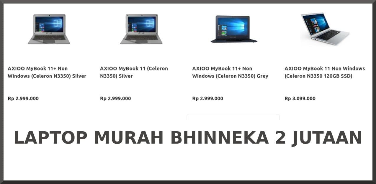 laptop murah bhinneka
