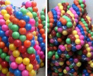 bola plastik sni warna warni