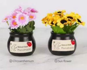 bunga artificial sun flower dan Chrysanthemum