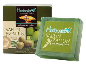 herborist sabun zaitun plus whitening extract