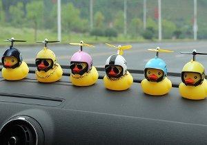 mainan bebek kuning baling-baling