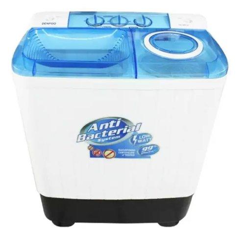 mesin cuci 2 tabung Denpoo DW888W Anti Bacteria